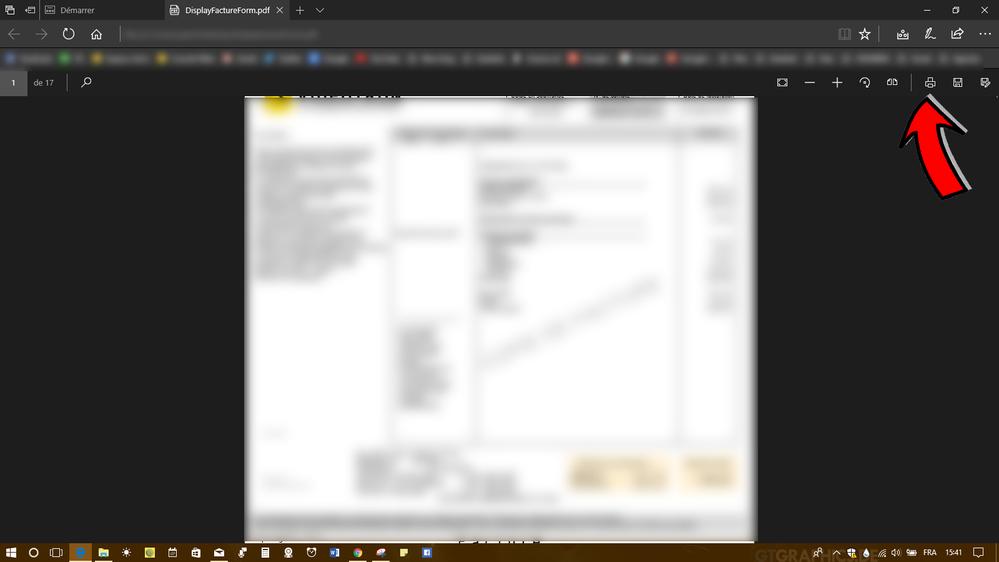 Microsoft Edge - Accès via Bouton rapide