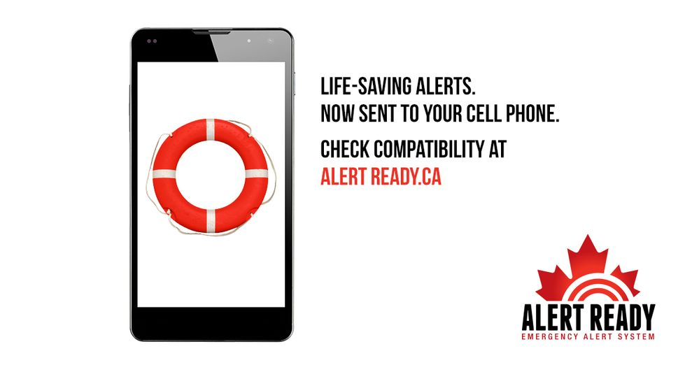 List of devices compatible with the Alert Ready service
